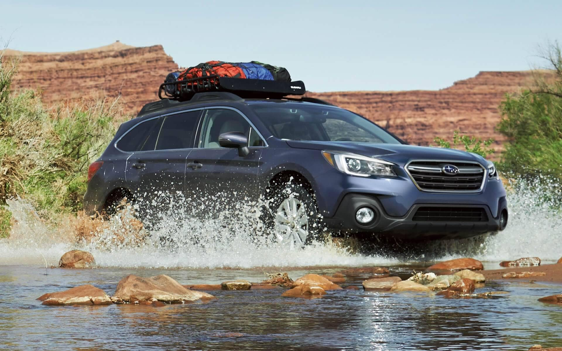 2018 Subaru Outback Exterior driving through water