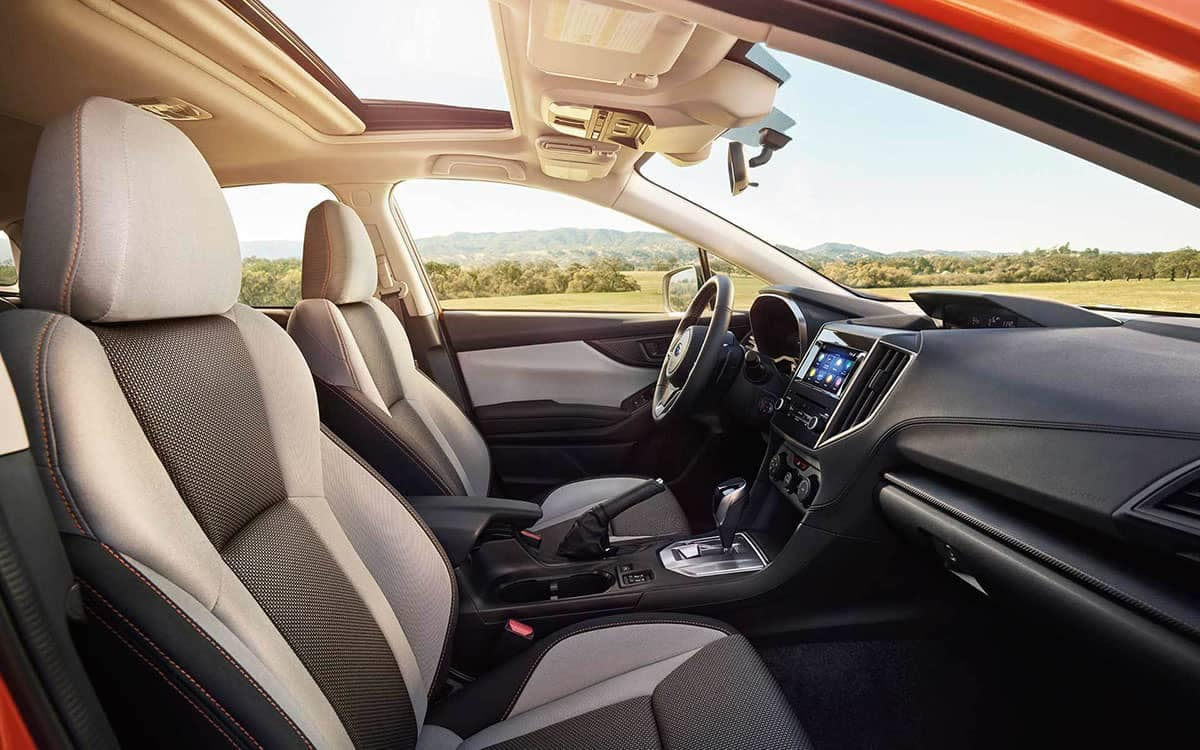 2019 Subaru Crosstrek Interior Seating and Features