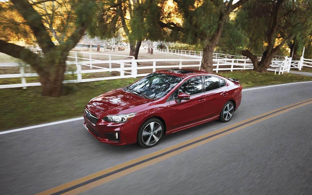 2019 Subaru Impreza Sedan Driving