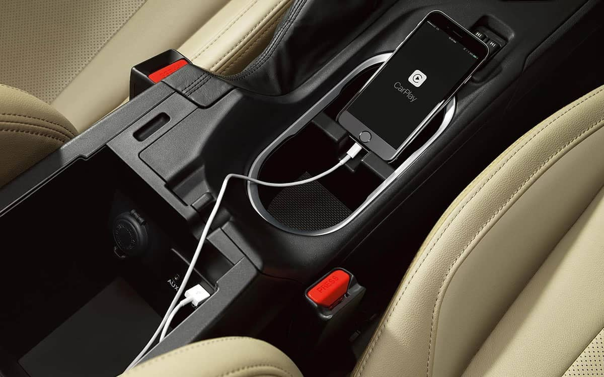2019 Subaru Impreza Cell Phone Charging Area