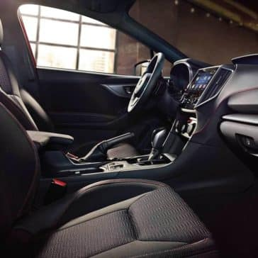2019 Subaru Impreza Interior Front Seating