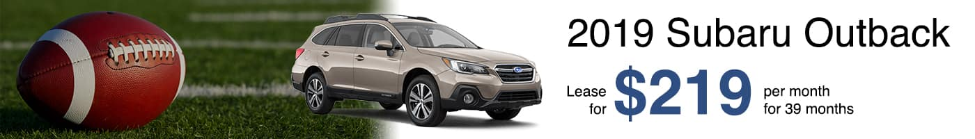Subaru Offer