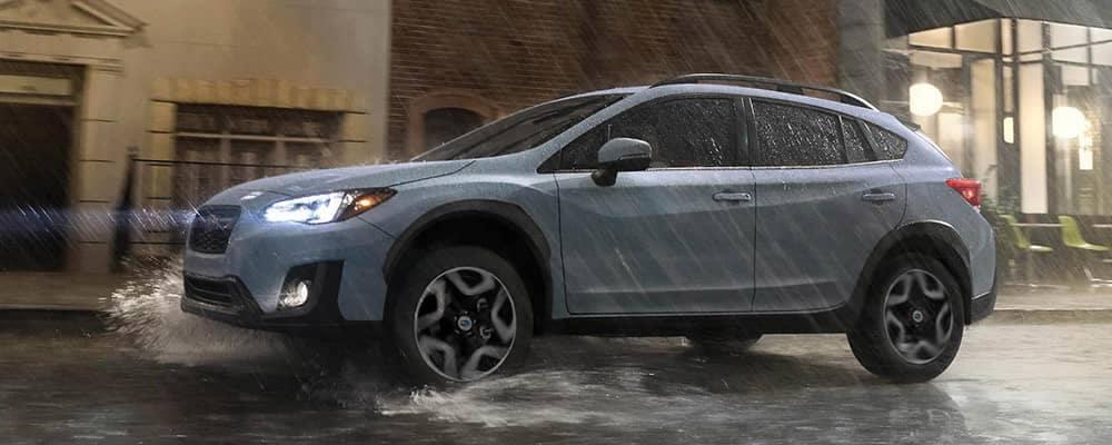 2019 Subaru Crosstrek Driving in the Rain