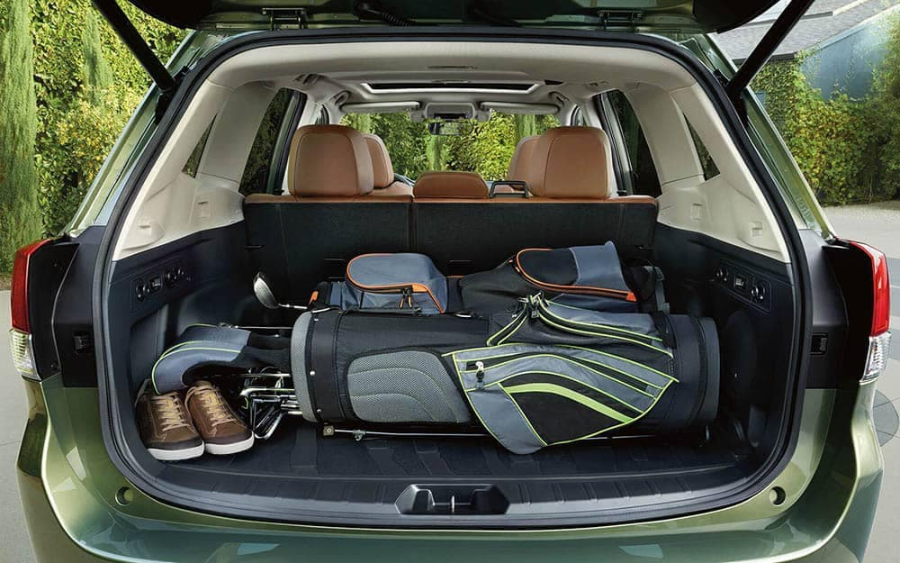 2019 Subaru Forester Behind Rear Seat Cargo Space