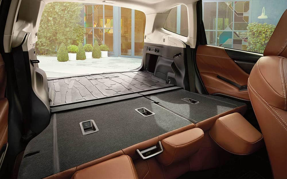 2019 Subaru Forester Cargo Space with Rear Seats Folded Down