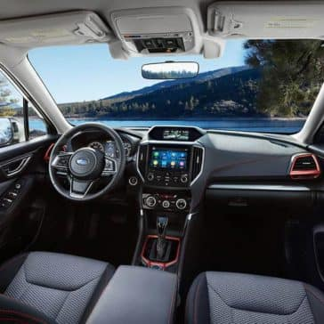 2019 Subaru Forester Interior Dashboard