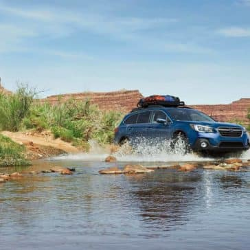 2019 Subaru Outback Off-Roading Through Water