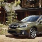 2019 Subaru Outback Green