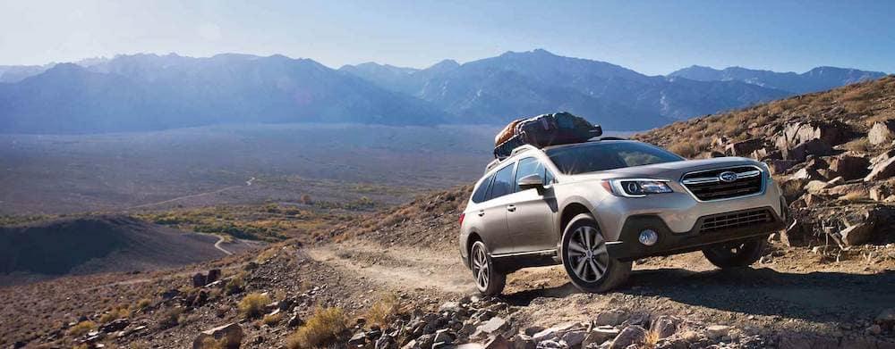 2019 Subaru Outback on mountainside