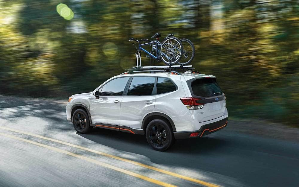2019 subaru forester towing capacity