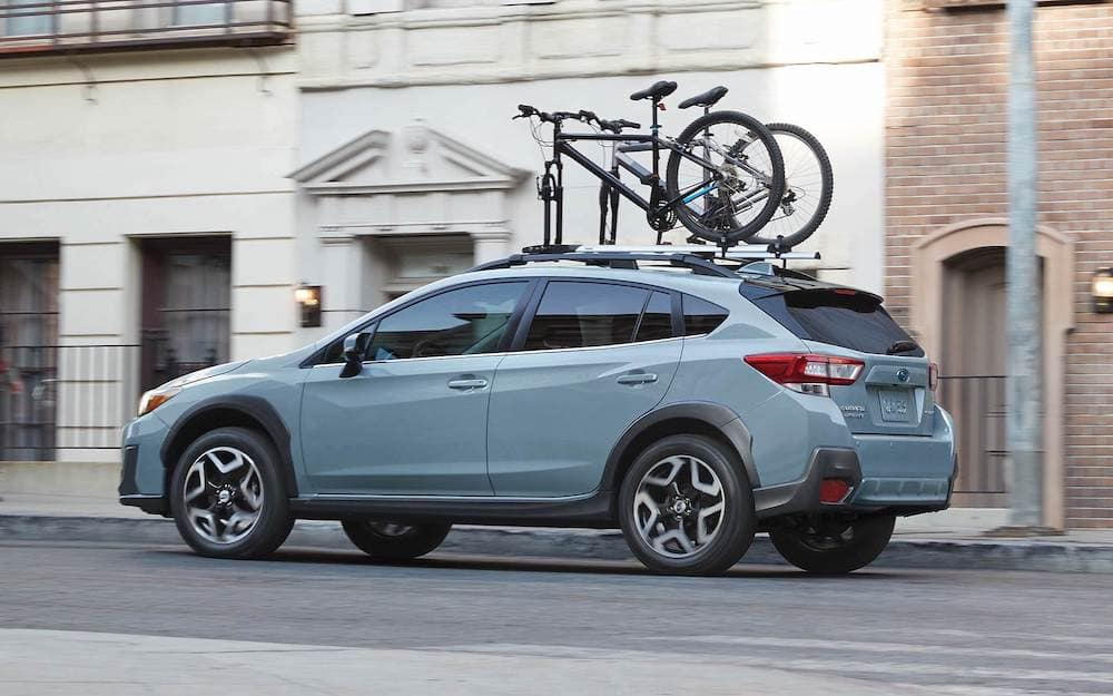 2019 Subaru Crosstrek with roof rack