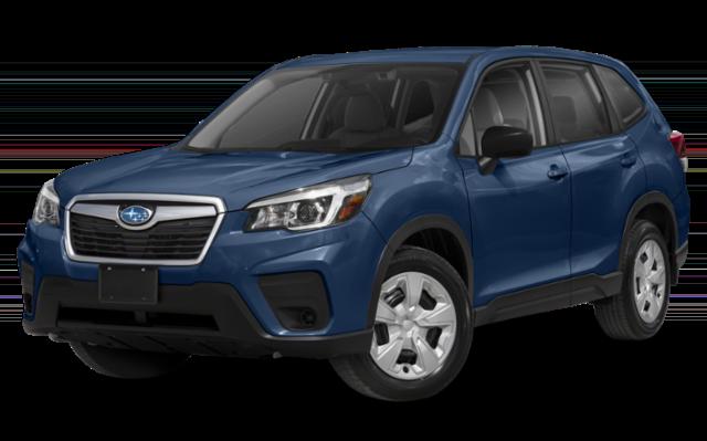 2019 Subaru Forester blue