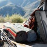 2020 Subaru Outback Interior Rear Seating with cargo area