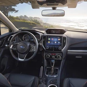 2020 Subaru Crosstrek Dash