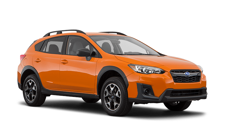 2020 Subaru Crosstrek Orange