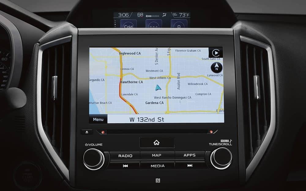 2020 Subaru Crosstrek Navigation
