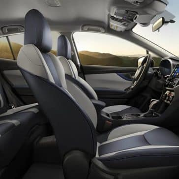 2020 Subaru Crosstrek Seating