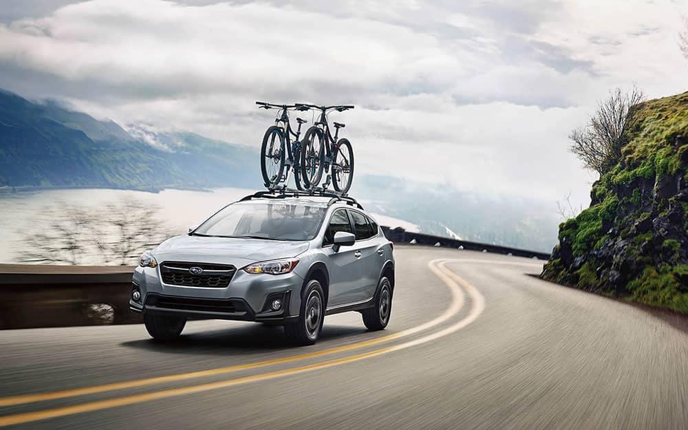 2020 Subaru Crosstrek With Bike Rack
