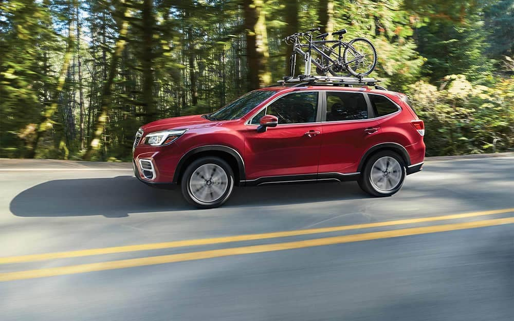 2020 Subaru Forester Driving