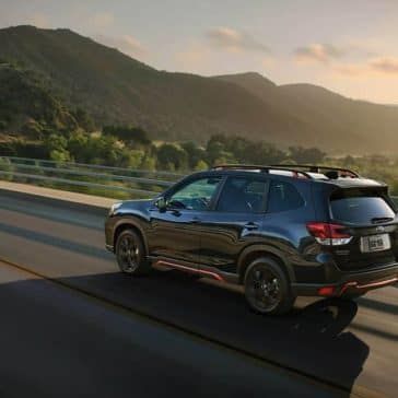 2020 Subaru Forester Rear