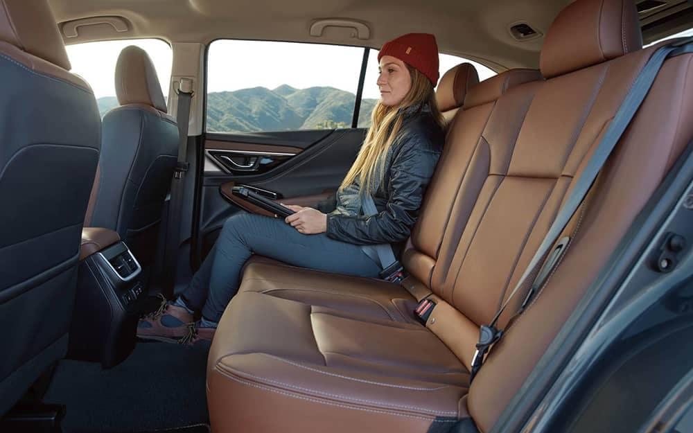 2020 Subaru Outback Back Seat