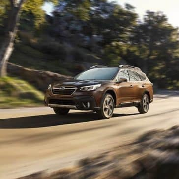 2020 Subaru Outback Driving