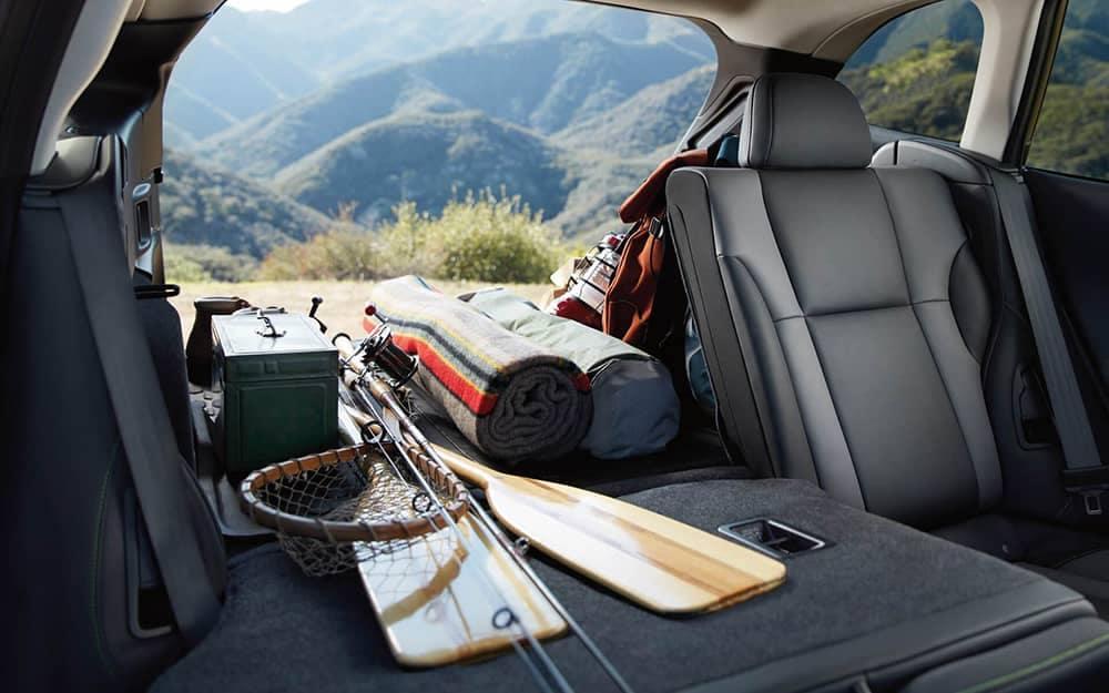 2020 Subaru Outback Interior Space