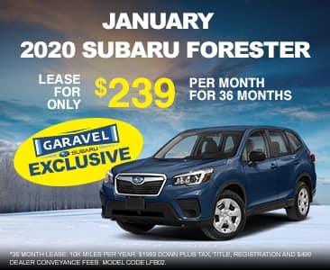 <center>2020 Forester for $239 per month<center>