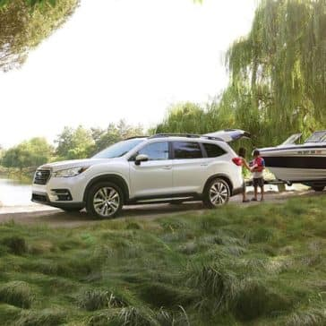 2020 Subaru Ascent Towing Boat