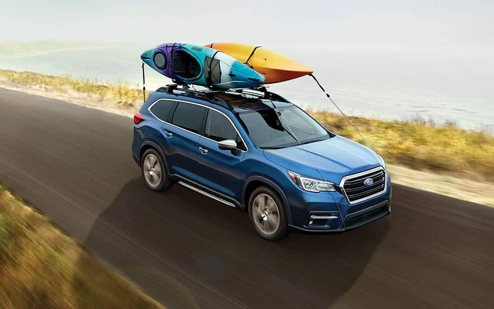 2020 Subaru Ascent With Kayaks