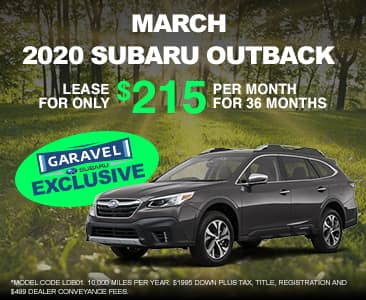 <center>2020 Outback for $215 per month<center>