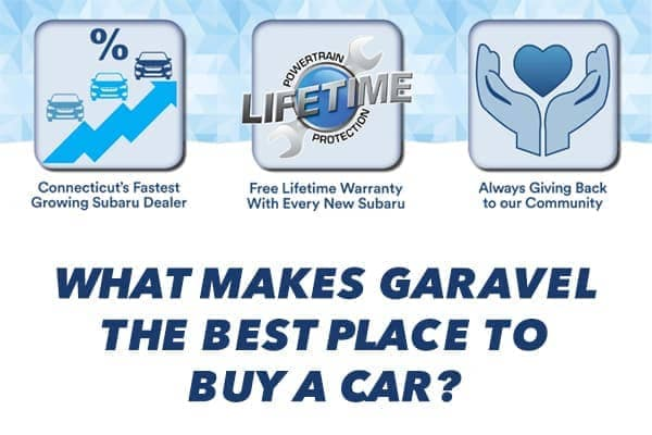 what makes garavel the best place to buy a car