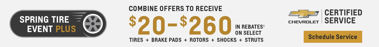 Spring Tire Deal
