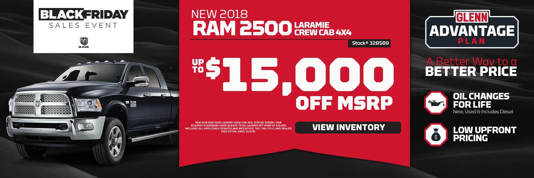 Black Friday Sale Ram 2500