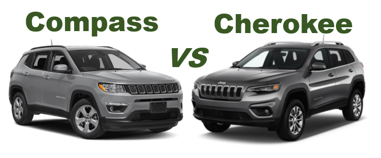 2019 Jeep Compass Vs 2019 Jeep Cherokee Glenn S Freedom Cdjr