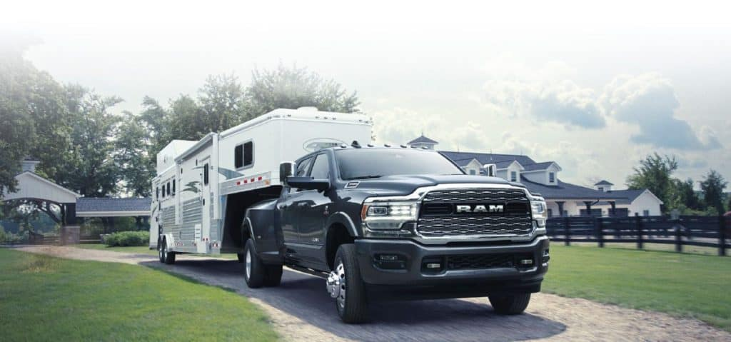2019 RAM 3500 - Available Engines - Towing Capacity