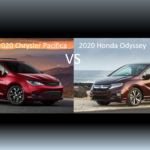 2020 Chrysler Pacifica vs 2020 Honda Odyssey - Comparison