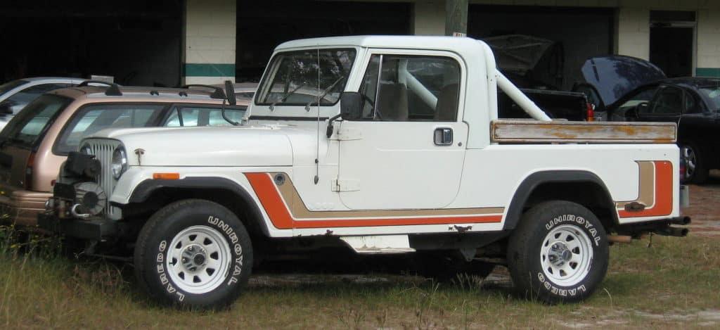 Jeep CJ8 Scrambler - Original