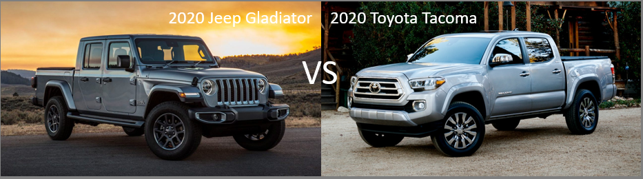 2020 Jeep Gladiator Vs 2020 Toyota Tacoma Glenn S Freedom Jeep