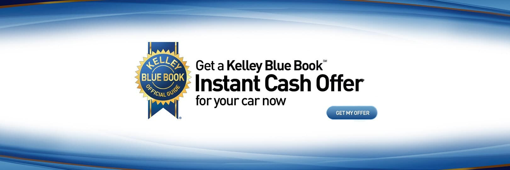 Kelley Blue Book Instant Cash Offer - Banner