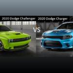 2020 Dodge Challenger vs 2020 Dodge Charger 2