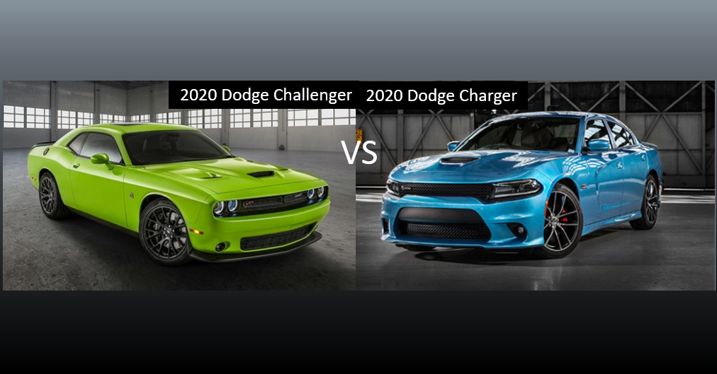 2020 Dodge Challenger vs 2020 Dodge Charger
