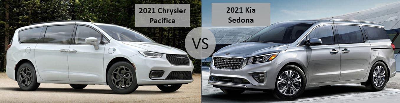 2021 Chrysler Pacifica vs 2021 Kia Sedona