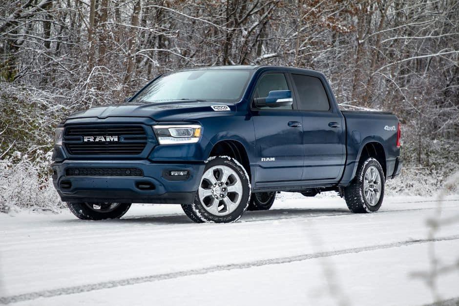 Ram 1500 Snowy Weather
