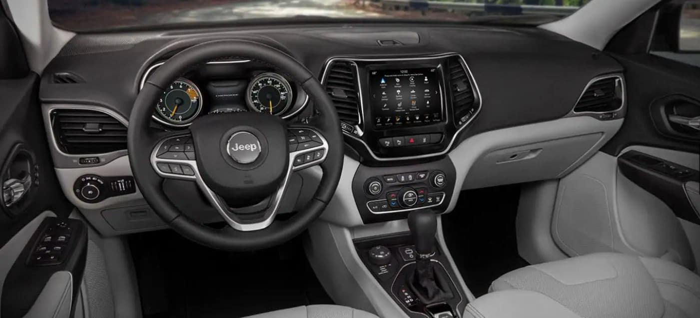 2021 Jeep Cherokee Interior Comparison