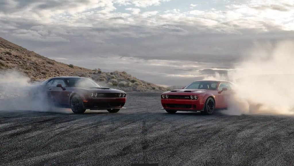2021 Dodge Challenger Horsepower By Engine Type