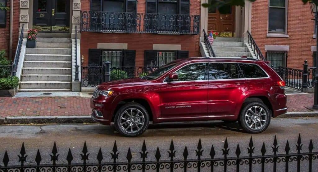 2021 Jeep Grand Cherokee Color Options