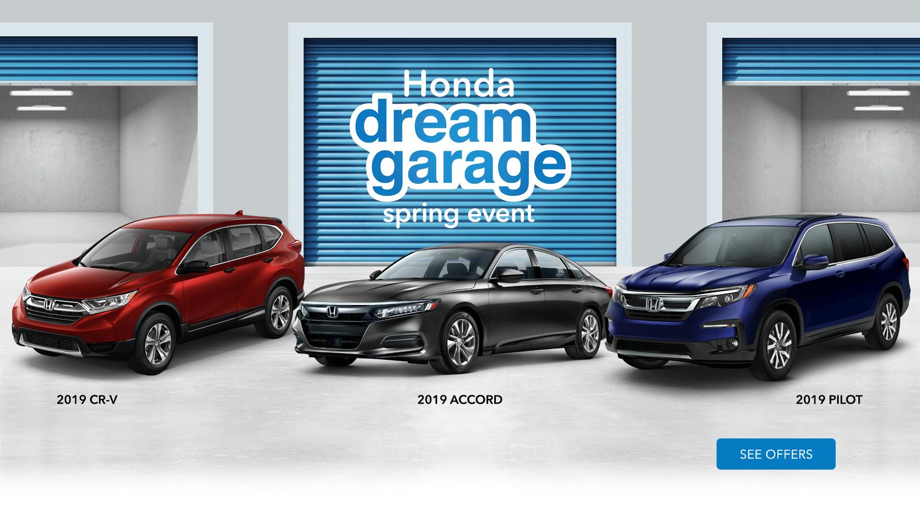 Hawaii Honda Dealers 2019 Honda Dream Garage HP Slide