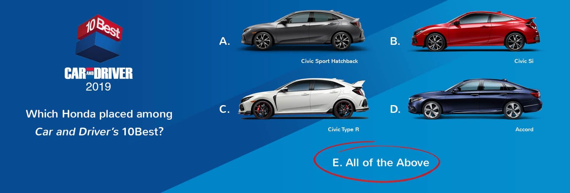 Honda Awards And Accolades Hawaii Honda Dealers Crossovers And Suvs