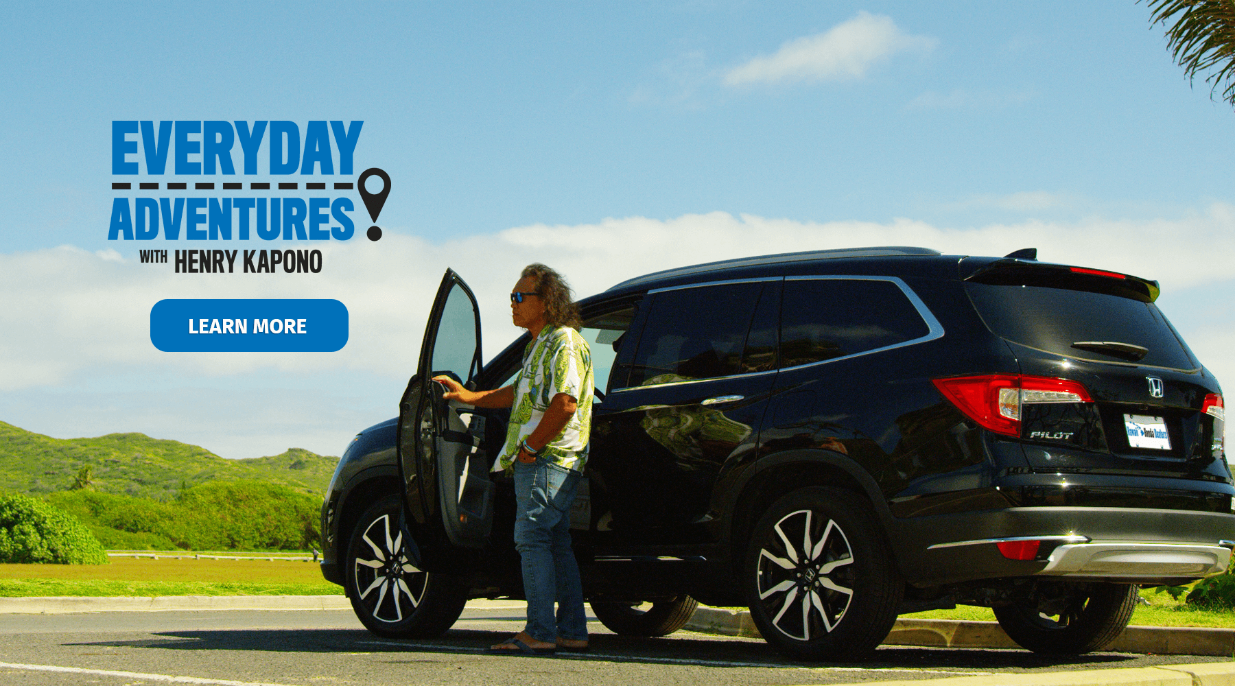 Hawaii Honda Dealers Everyday Adventures with Henry Kapono HP Slide